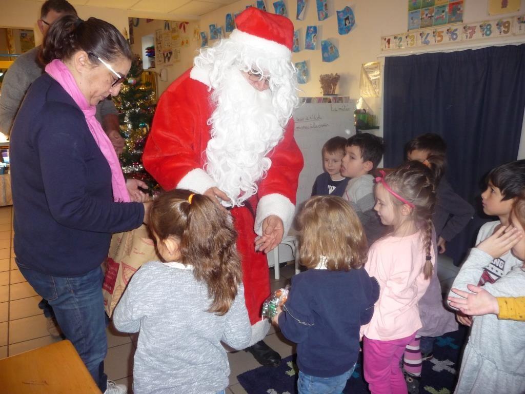 Le père Noel en maternelle 1