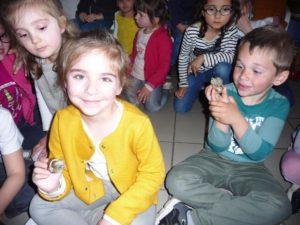 Les escargots LEO et ZOZO