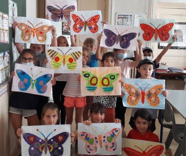 papillons CE1